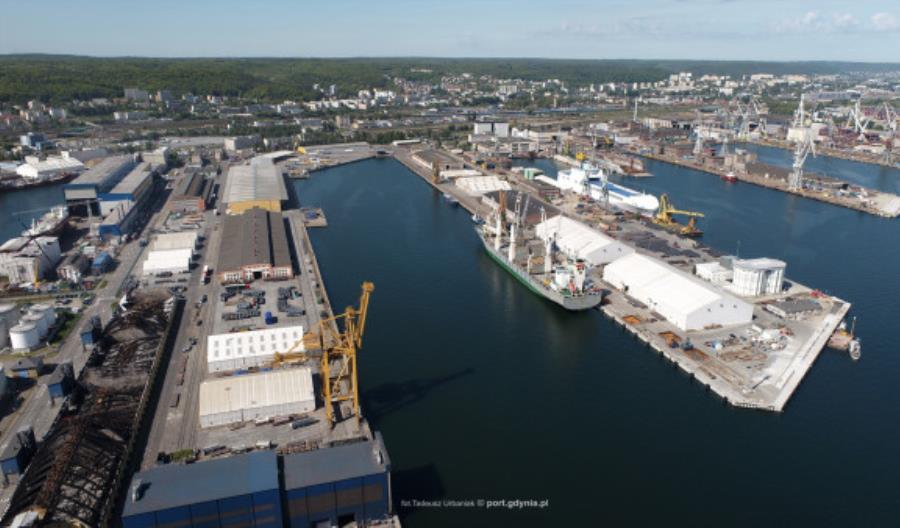 Port Gdynia zakończył rok 2020 ze wzrostem przeładunków
