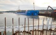 Port Zewnętrzny na Mierzei przyjął pierwszy transport