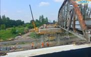 Ciekawy wiadukt na linii nr 62 w Dąbrowie Górniczej