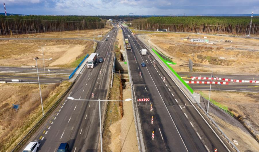 Prawie 110 mln zł Unii na A6 Kijewo – Rzęśnica