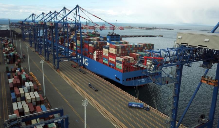 Terminal DCT Gdańsk obsłużył 15 milionów kontenerów