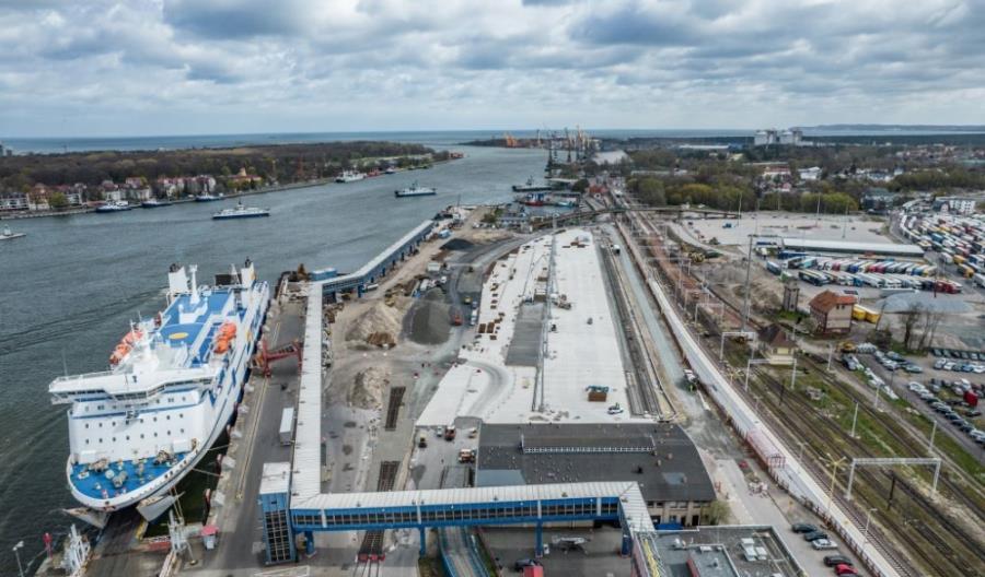 CEMEX uczestniczy w modernizacji terminala w Świnoujściu