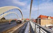 Gdańsk. Próby obciążeniowe na wiadukcie Biskupia Górka