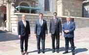 Ministrowie transportu V4 m.in. o szlaku Via Carpatia