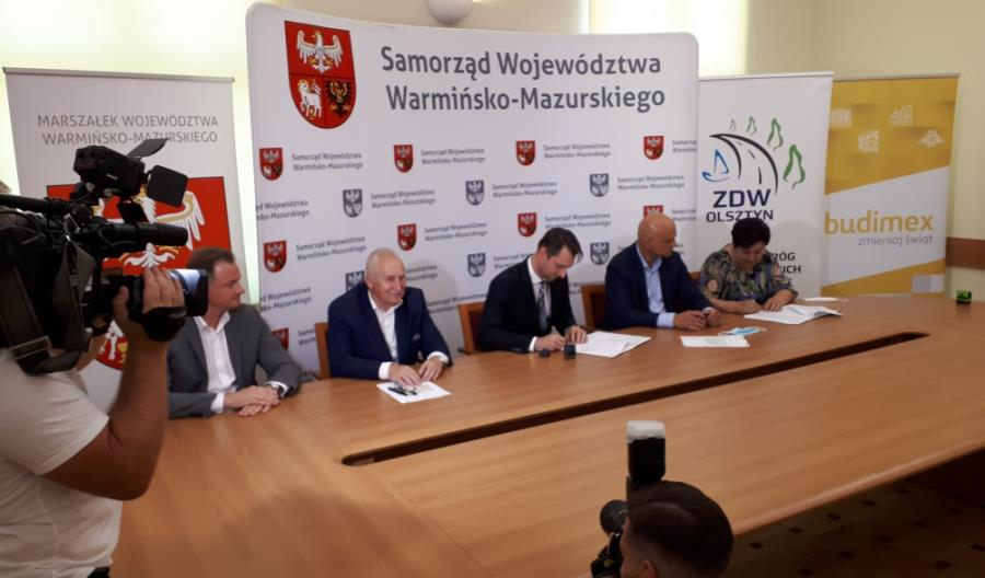 Budimex rozbuduje drogę dla ZDW Olsztyn
