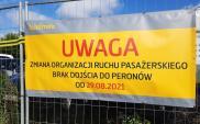 Warszawa Zachodnia: Bez dojścia od strony Tunelowej i peronu 8