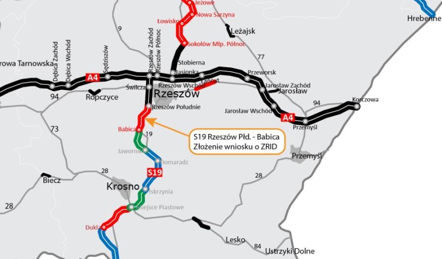 S19 Rzeszów – Babica z tunelem czeka na ZRID