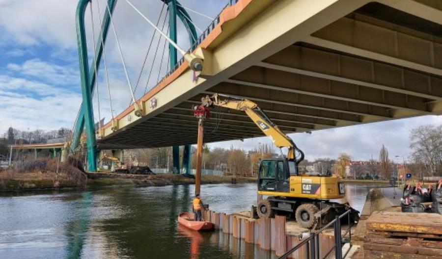 Bydgoszcz. Rusza naprawa zamkniętego do stycznia Mostu Uniwersyteckiego