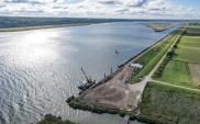 Prace przy II etapie połączenia Zalewu Wiślanego z Zatoką Gdańską nabierają tempa