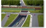 Rail Baltica. Powstanie wiadukt w Kobyłce, ruszył przetarg