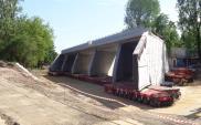 Warszawa: Tunel wsunął się pod linię kolejową [film]