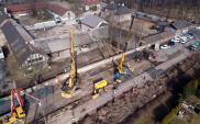 Prace na trasie Kraków – Katowice. Powstają 3 wiadukty nad torami