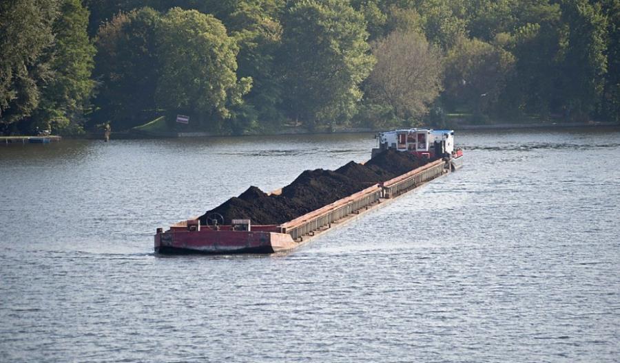 OT Logistics: Z Gliwic do Wrocławia przepłynęło Odrą ponad 200 tys. ton węgla
