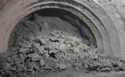 Tunel na Zakopiance przebija się na drugą stronę góry