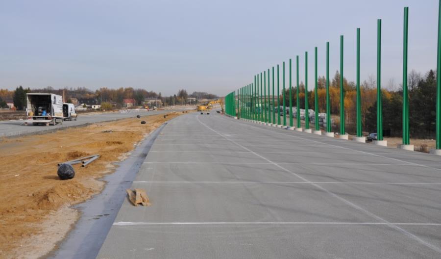 Są oferty na montaż ekranów na obiektach mostowych A1