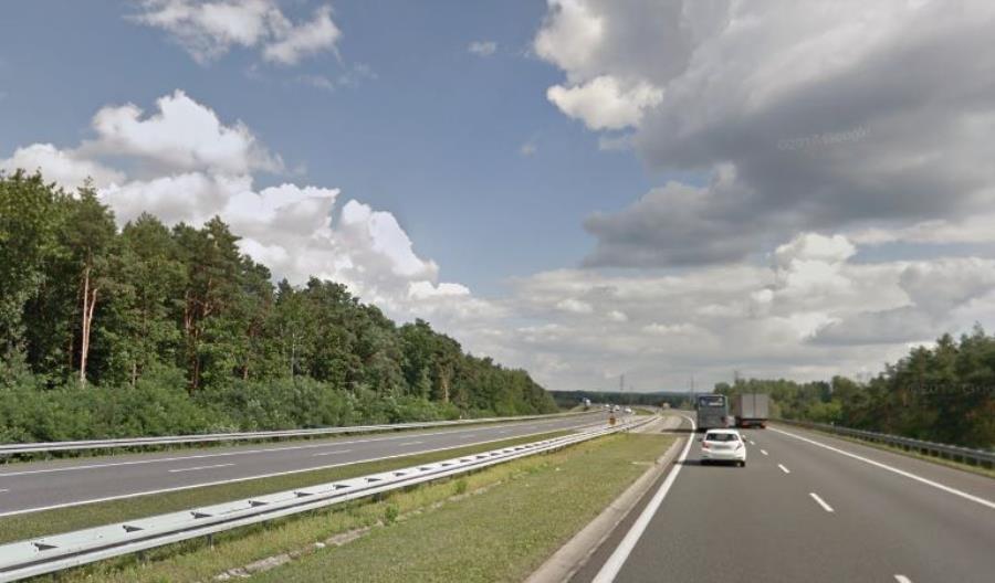 Duży spadek ruchu na A4