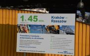 Od grudnia pierwsze efekty modernizacji linii Kraków – Rzeszów