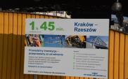 Od grudnia 160 km/h z Krakowa do Rzeszowa