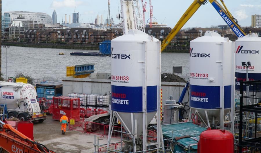CEMEX uczesticzy w najwiekszej inwestycji wodno-kanalizacyjnej w wielkiej Brytanii