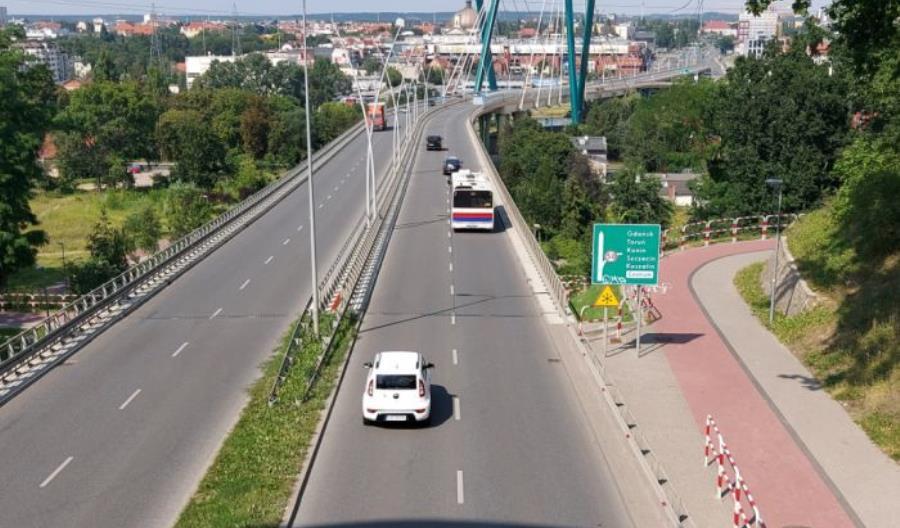 Bydgoszcz: Most Uniwersytecki czasowo zamknięty. Ruszają prace naprawcze