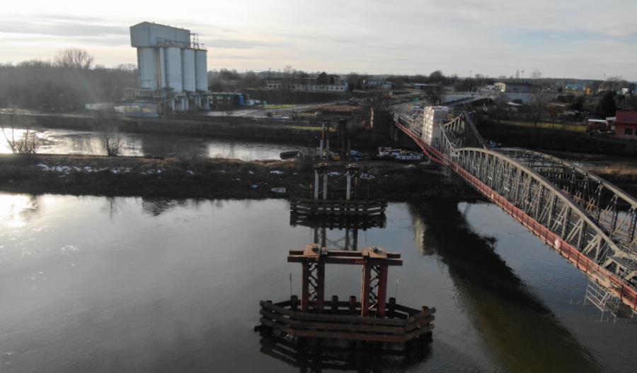 Do Ścinawy płynie most ze Stanów Zjednoczonych