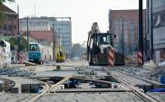 Tramwaj w centrum Olsztyna ukończony