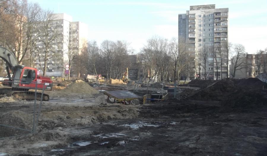 Łódź: Przedłużenie al. Kościuszki dopiero na wiosnę