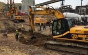 Zabrze: Trwa budowa fundamentów nowej elektrociepłowni