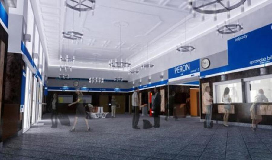 Remont dworca w Kaliszu jest kontynuowany