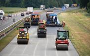 Opolskie: Strabag układa nawierzchnię na remontowanej A4
