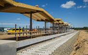 Szymany: Trwa budowa peronu kolejowego