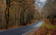 Warmińsko-mazurskie drogi choć wąskie i kręte, to piękne i coraz bezpieczniejsze