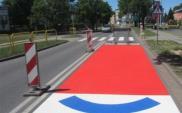 Inowrocław: Powstały nowoczesne instalacje przy przejściu dla pieszych