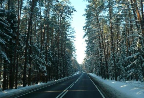 Zimowe utrzymanie dróg krajowych Warmii i Mazur
