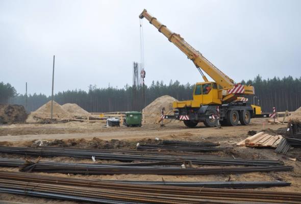 Bełchatów: Tempo prac na budowie obwodnicy zadowalające