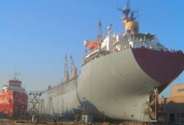 Kryzys dotyka chińskie stocznie