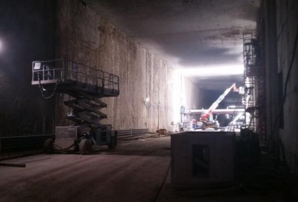 Tunel do dworca Łódź Fabryczna prawie gotowy