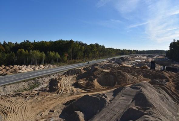 Warmińsko-Mazurskie: Budowa S7 Miłomłyn - Olsztynek
