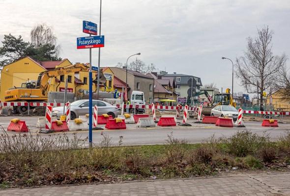 Warszawa: Budowa tunelu w Międzylesiu wchodzi w kolejny etap
