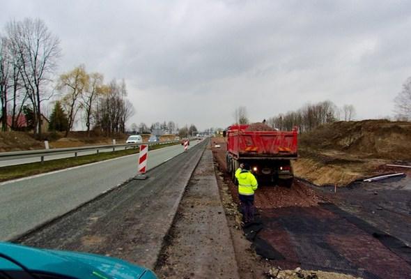 Śląskie: Obwodnica Pawłowic gotowa w 60%