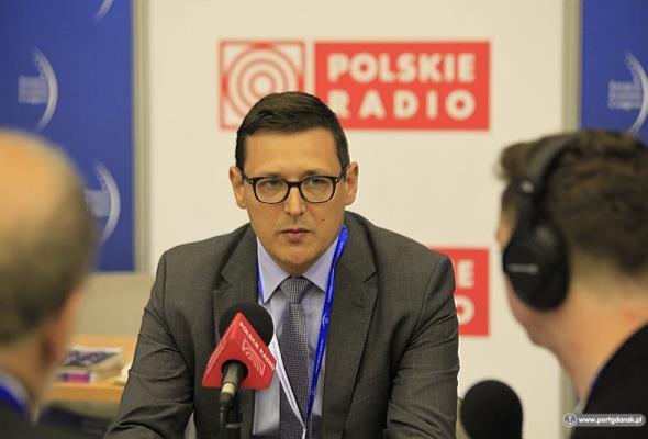 Greinke dla RI: Port Gdańsk zaistnieje na mapach logistycznych krajów Europy Środkowo-Wschodniej