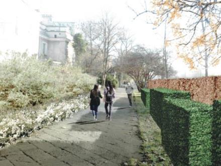 Warszawa: Na Wawelskiej zamiast ekranów zielona ściana