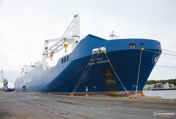 Kolejny regularny serwis oceaniczny Portu Gdańsk z Azją