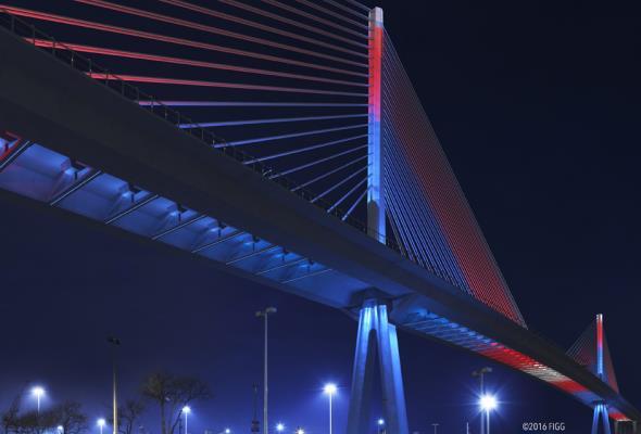 USA: Ruszyła budowa ogromnego mostu wantowego. Zobaczcie wizualizacje