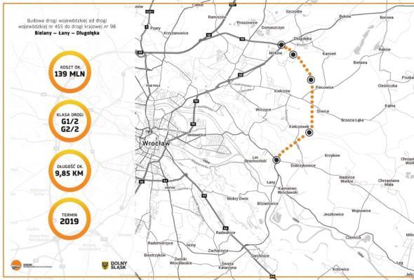 Wrocław: Rusza kolejny etap przetargu na budowę odcinka WOW