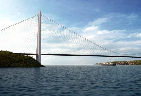 Turcja: Spektakularny most drogowo-kolejowy nad Bosforem otwarty