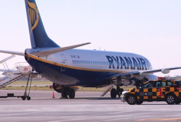 Ryanair wylądował na Okęciu