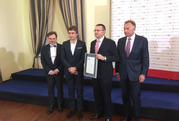 """CEMEX Polska laureatem konkursu """"Firma Dobrze Widziana"""""""