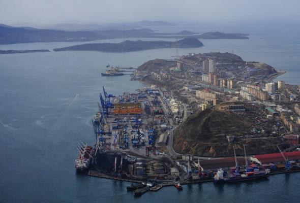 Wzrost obrotów w rosyjskich portach morskich