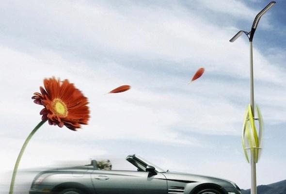 TAK turbiny wiatrowe mogą oświetlić autostrady